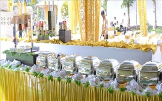 S K Santhosh Catering services indoor and outdoor