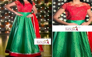 Keya Clothing Centre Gown18
