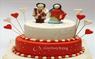 Wedding Cakes - Choco Orange - 5 Kgs