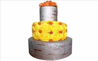 Wedding Cake Karamella 01