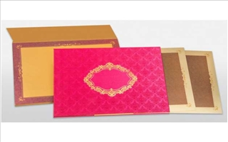 Wedding Cards Satina401