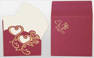 Wedding Cards Elektra68P-KRTT Pink